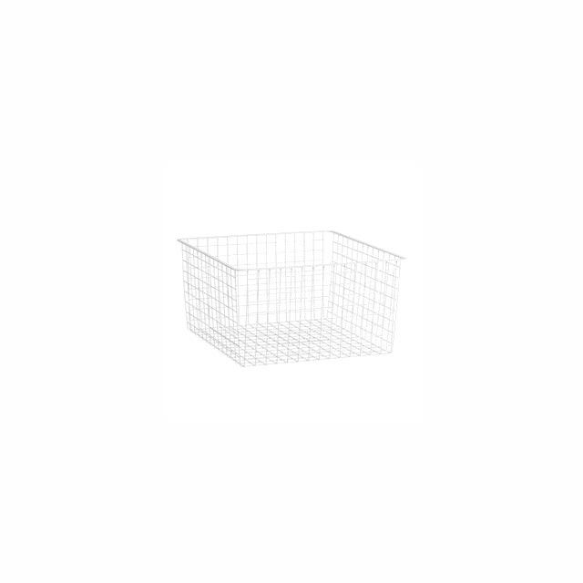 Trådback elfa vit 527x527x285