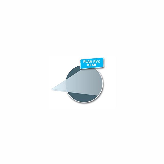 PLAN PVC KLAR 3MM 1200X600MM
