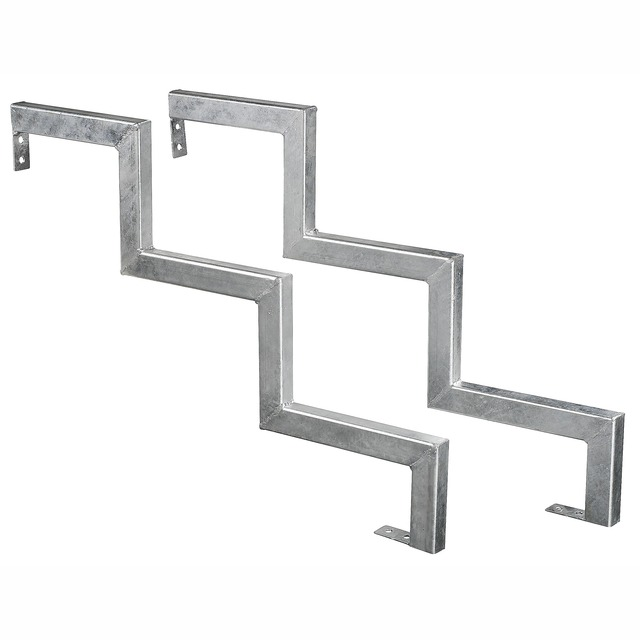 Trappkonsol 5-steg galv stål