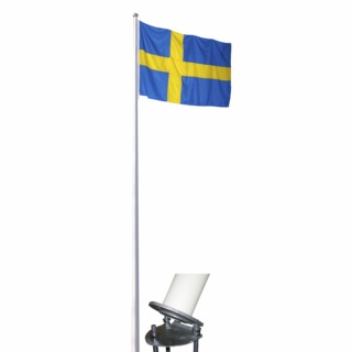 flaggstång nordic komplett 12m